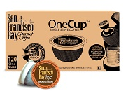 san francisco bay onecup u2013 breakfast blend u2013 120 cups - K Cups Bulk