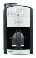 Capresso 464.05 CoffeeTeam GS 10-Cup Digital Coffeemaker with Conical Burr Grinder