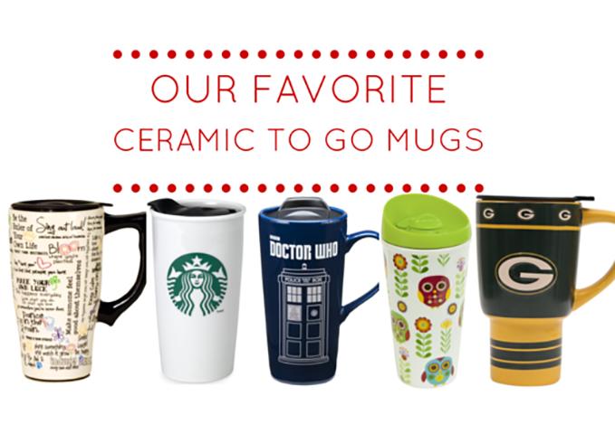 ceramic to go coffee mugs