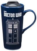 Vandor Doctor Who 20 Ounce Heat Reactive Ceramic Travel Mug