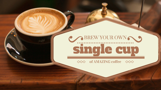 single cup coffee brewers that use your own coffee