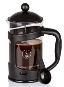 Coffeeget 6 Cup 27 Oz French Press Coffee Maker with Thick Heat Resistant Glass