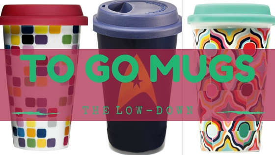 Coffee mugs with lids