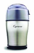 Capresso 503.05 Stainless Steel Cool Grind Coffee Grinder, Stainless Steel