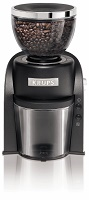KRUPS GX6000 Burr Coffee Grinder with Grind Size and Cup Selection, Black