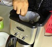 Prepare coffee maker