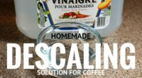 homemade descaling solution for coffee makers