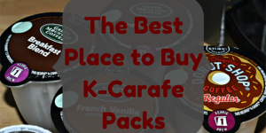 Don't Know Where To Buy K-Carafe Packs?